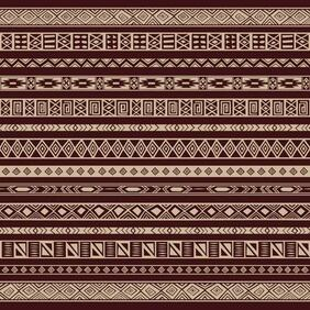 Rich etnico Seamless Pattern Background
