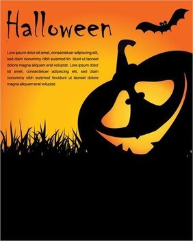 Halloween Posters Element