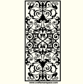 Free Vector Marquetry Ornamental Design