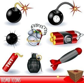 Bombs Landmines Series