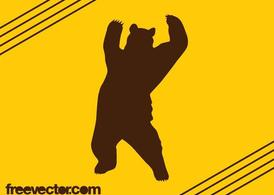 Bear Silhouette Graphics