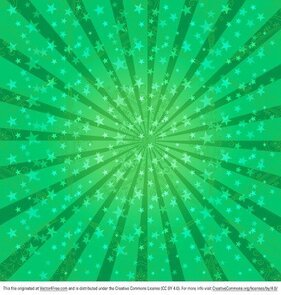 Green Sunburst