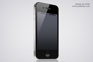 iPhone4 icon PSD format