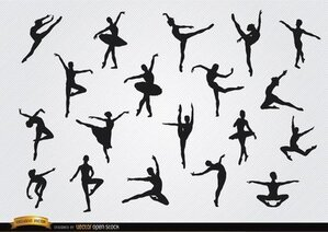 Free Ballet Dancer Clipart In Ai Svg Eps Or Psd