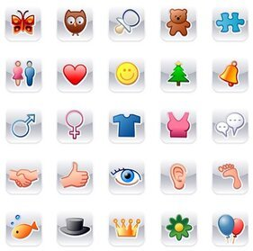 Cute icons web2.0 logo