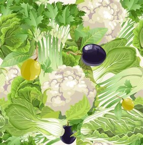Vegetable background 01