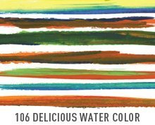 106 deliciosa agua Color pinceles de Illustrator