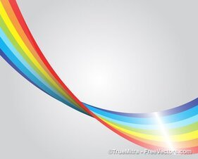 Rainbow Stripe Design