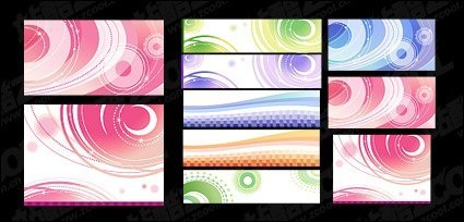 Dreams vector lines background material