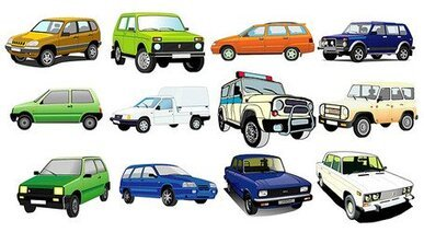 Exquisite variety of cars