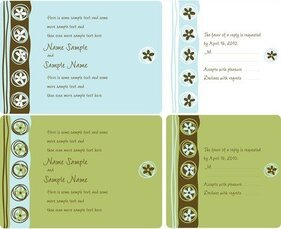 Wedding Invitation Panel