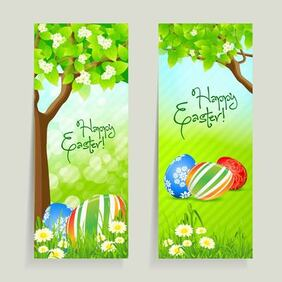 2 Easter Card with Fresh Daisy