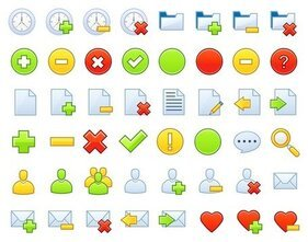 common vector web icons