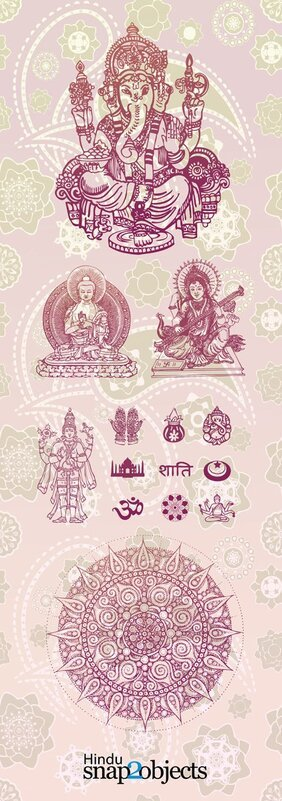 Free Vector Hindu Elements