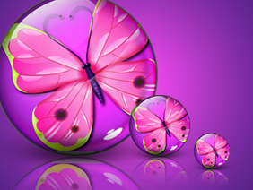 Butterfly orb icon