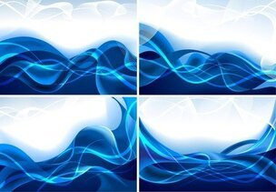 Dynamic Lines Of Blue