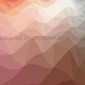 WAVY POLYGONAL VECTOR ART.eps