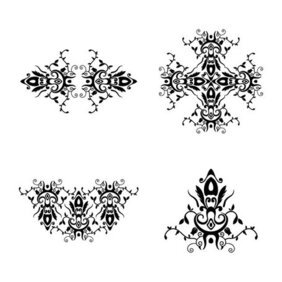 Seamless Ornamental Floral Patterns
