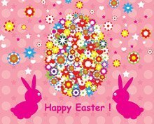 Happy Easter Background Design