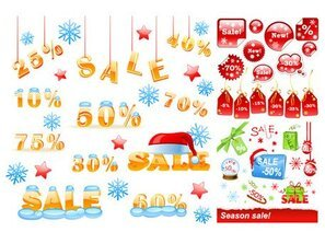 Winter discount sales chart