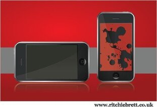 Vectores gratis Iphone