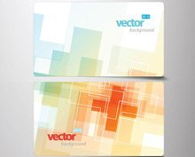 Business Card Collection Vector Set