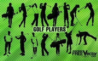 15 Golf player