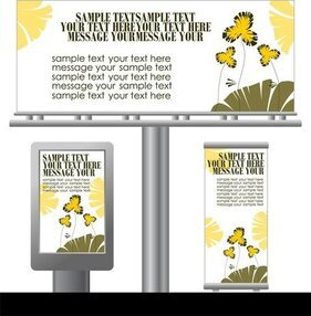 Light Box Billboards 1 Template Design