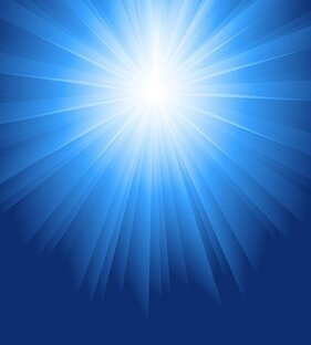 Sunlight Burst Blue