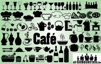 Creativo Icon Pack de Cafe y restaurante