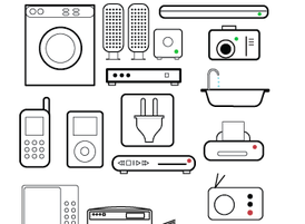 Vector Appliance Icons