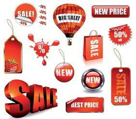 Decorative Vector sales-related material