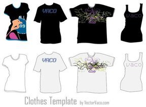 Tshirt Clothing Template Free
