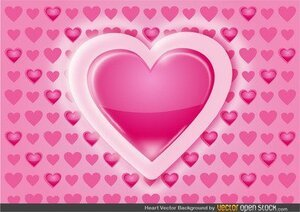 Background Pattern cuore