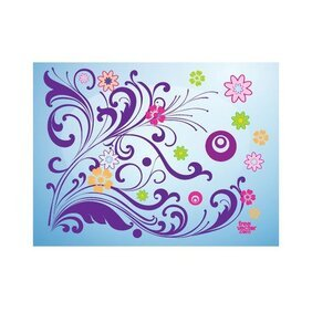 FLORAL VECTOR CARD.eps