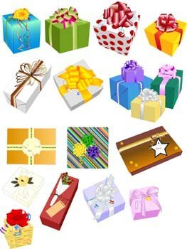 Gift and Present Set