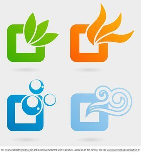 Nature Elements Logos