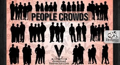 Vector People Crowds