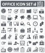Office,human resource and business icon set,vector
