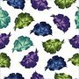 Bows abstract seamless pattern