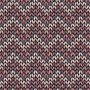 Seamless pattern with knitted chevron ornament
