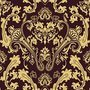 Vector pattern inspired by  paisley