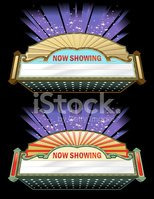 Theater Marquee,Film Indust...