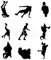 Dancer,Dancing,Hip Hop,Silh...