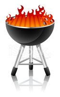 Barbecue Grill,Barbecue,Vec...