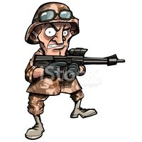 Cartoon,Armed Forces,Army,M...