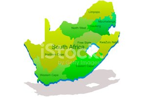 South Africa,Map,Africa,Thr...