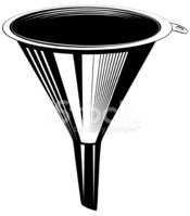 Funnel,Vector,Isolated,Kitc...