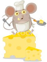 Mouse,Chef,Cheese,Animal,Cu...