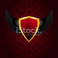 Shield,Red,Artificial Wing,...